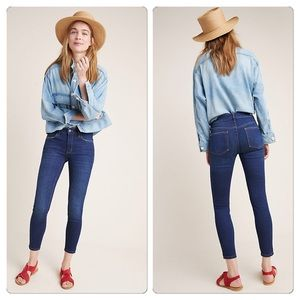 Pilcro For Anthro High Rise Skinny Ankle Jeans